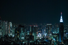 Beautiful Night View From Toky...
