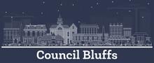 Outline Council Bluffs Iowa Sk...