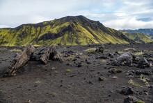 Majestic Volcanic Landscape Co...