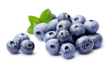 Sweet Blueberries In Closeup