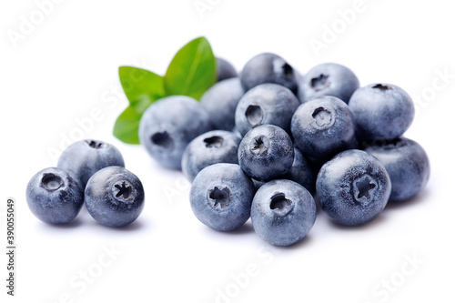 Papel de parede Sweet blueberries in closeup