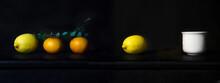 Orange And Lemon Fruit For Foo...