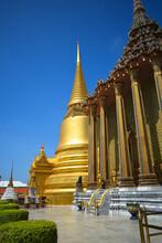 Wat Pra Kaew At Bangkok, Kingdom Of Thailand