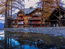 Apartment And Chalet In The Alpes De Haute Provence In Risoul In Autumn - France