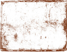 Grunge Texture Background, Frame Vintage Effect. Royalty High-quality Free Stock Photo Image Of Abstract Old Frame Grunge Texture, Distressed Overlay Texture. Useful As Background For Design-works