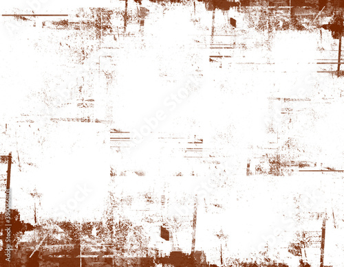 Obraz Grunge texture background, frame vintage effect. Royalty high-quality free stock photo image of abstract old frame grunge texture, distressed overlay texture. Useful as background for design-works - fototapety do salonu