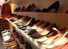 Alignement De Chaussures Dans ...