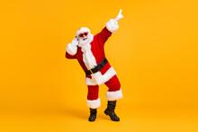 Full Length Photo Crazy Santa ...