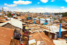 Kibera Slum In Nairobi During ...
