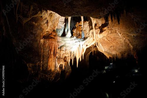 Natural Marble Arch cave underground, Fermanagh, Northern Ireland Fototapet