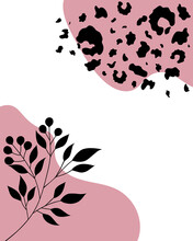 Abstract Backgrounds Leopard S...