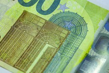 Two Hundred Euro Bill Detail 6