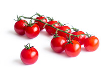 Small Red Cherry Tomatoes, On ...
