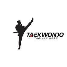Taekwondo Vector Icon Design