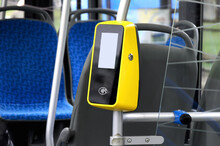 Vertical Handrail With Bus Pay...