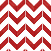 Vector Red Striped Chevrons Wh...