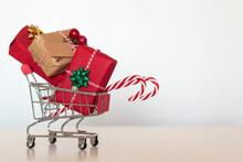 Shopping Cart Full Of Christma...