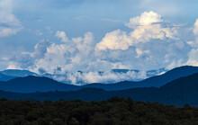 USA, Georgia, White Cumulus Cl...