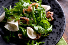 Close Up Of Turnip Salad With ...