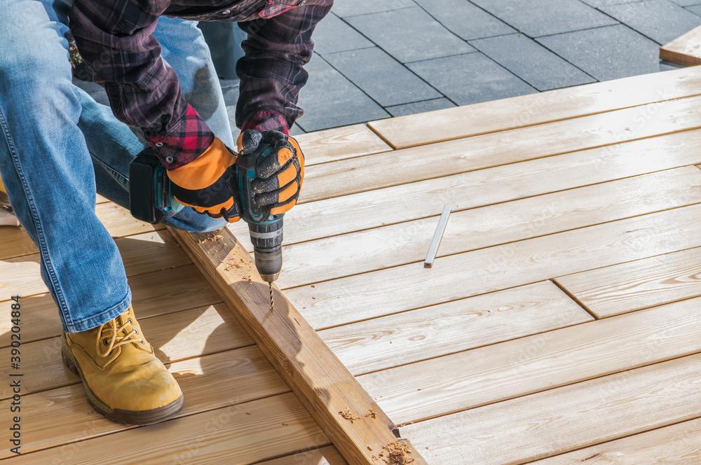 Fototapeta Small Woodwork Job - obraz na płótnie