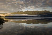 Quinault Lake Morning Reflections, Washington State