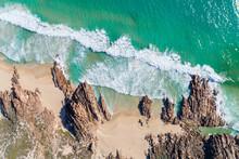 Stunning Rocky Coastline Of The Southwest Of Western Australia At Wyadup Beach Yallingup