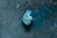 Heart Representing The Earth O...