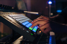 Creating Music With A Drum Pad