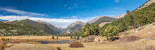 Panoramic View Over The Sheep ...