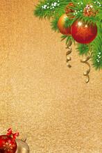 Gold Textured Background