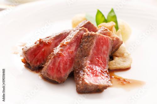 Fotografering 牛肉のコース