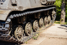 Large Wheels From A Tank In Th...