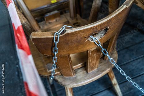 Fototapeta sedie legate