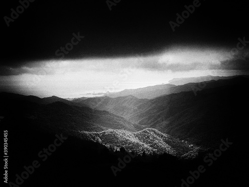 Bric Pesariondo (Alpicella, Varazze, Liguria) Fotobehang