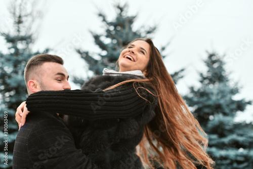 Fototapeta The concept of romance and love