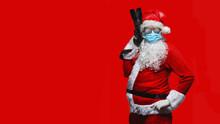 Cool Santa Claus In Breathing ...