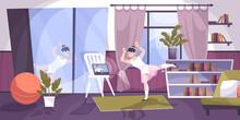 Online Dancing Course Composition