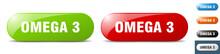 Omega 3 Button. Key. Sign. Push Button Set