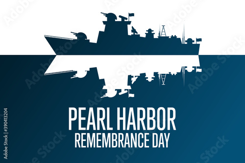 Canvas Print National Pearl Harbor Remembrance Day