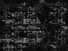 Fragmenting Binary Code Data Stream Abstract Background In Black And White