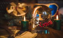 Concept Of Christmas Divinatio...