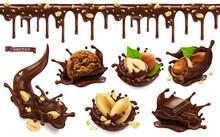 Chocolate Splashes With Peanut...
