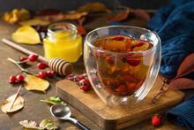 Healthy Winter Vitamin Drink. ...