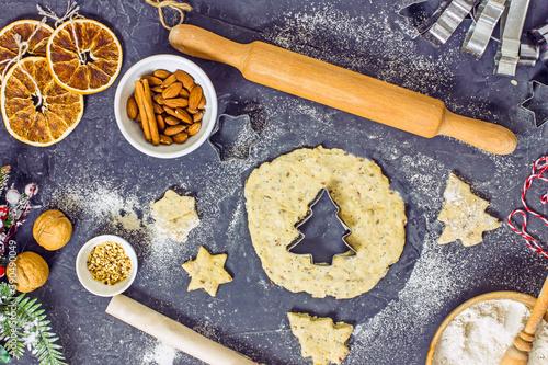 Papel de parede Gluten Free Christmas Cookies