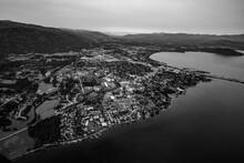 Sandpoint Idaho Aerial.  Image...