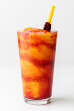 Chamoyada. Smoothie Made Of Mango, Chamoy (mexican Sauce) And Ice.