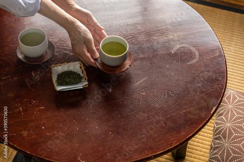 Fotografia 日本茶Japanese green tea