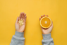 Dietary Supplements And Orange...