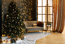 Christmas Tree In The Interior...