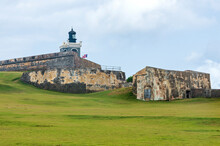 Bastion Lighthouse And Walls Of El Morro